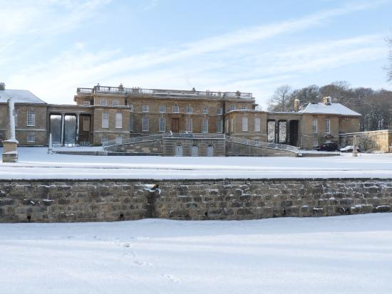 Bramham Park The Main House In Snow
