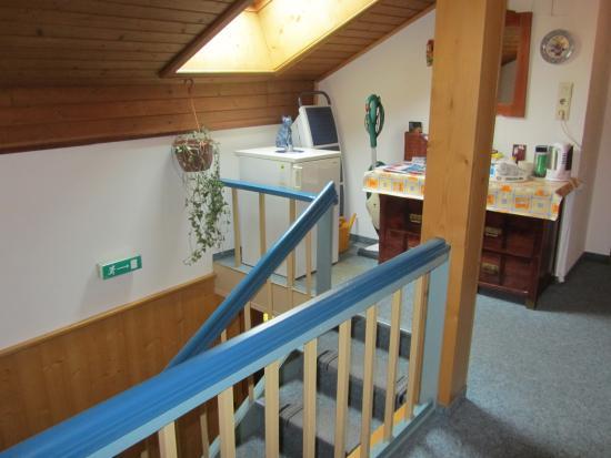 Gästehaus Vierjahreszeiten: Холл на третьем этаже