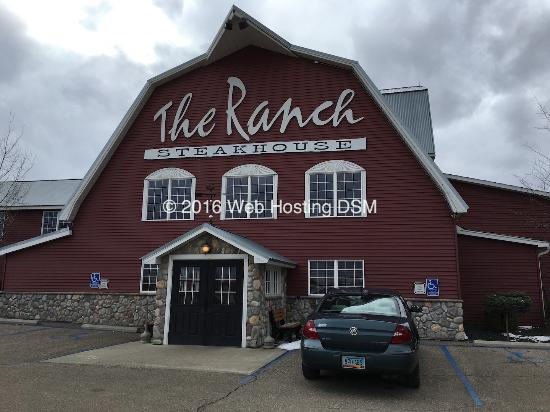 The Ranch Steakhouse: Entrance