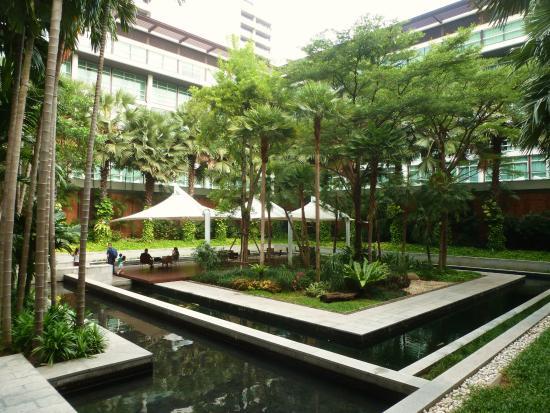 jardin interieur - Picture of Pullman Bangkok King Power, Bangkok ...
