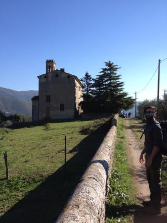 Calci, Italy: Our guide Giulio, he is the most fun and wise guide we have encountered in Italy!