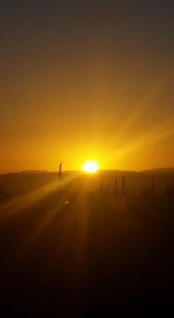 Holiday Inn Express Sierra Vista: Sunrise
