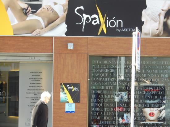Spaxion Pontevedra: Balneario ubano de la cadena Spaxión en Pontevedra, antiguo Spabilate