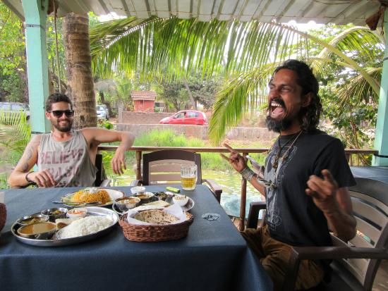 """Anjuna, India: """"SANMAN"""" - living legend!! (Not forgetting Roy, my Israely brother!!!)"""