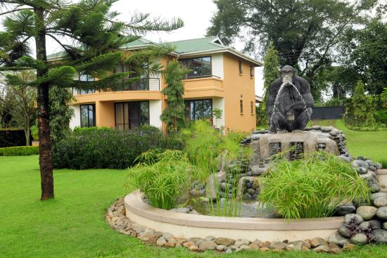 Chimp and Water Fountain  at Fort Motel
