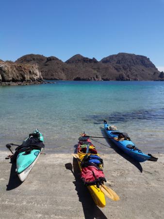 Paddling South: Loreto Mexico beach camping