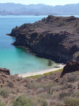 Paddling South: Cove all to ourselves, Sea of Cortez, Loreto Mexico
