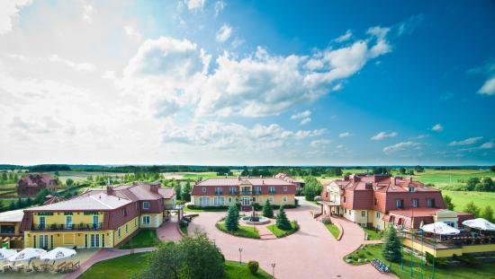 Hotel Mazurski Dworek : Hotel z lotu ptaka