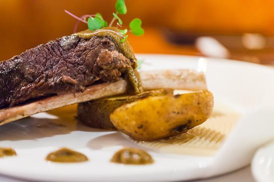 La Cantina Restauracja : żebro wagyu.