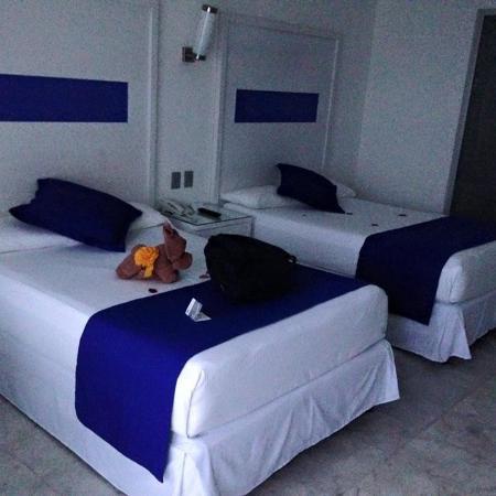 Hotel Riu Caribe: Standard room