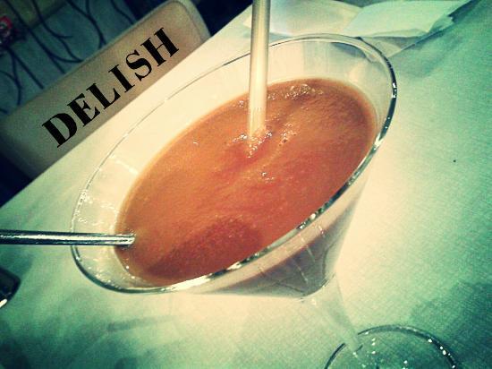 Hotel-Locanda Tabina : Risotto agli asparagi e sorbetto al caffè
