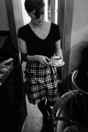 La Locanda Italian Bistro Edinburgh: Serving Coffee