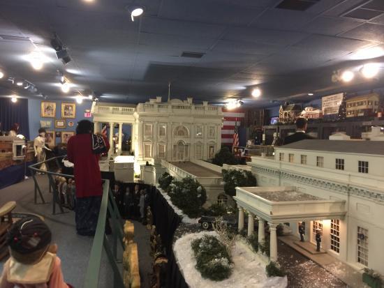 Presidents Hall of Fame: Display area