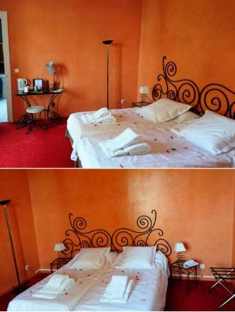 Hostellerie de saint alban hotel n zignan l 39 v que for Chambre 0 decibel