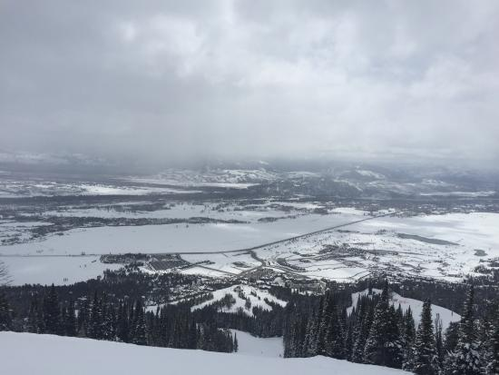 Jackson Hole Mountain Resort: View from the Tramp