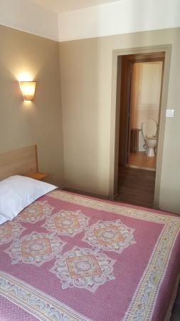 Hotel Angleterre: Notre chambre