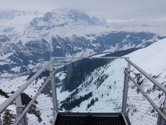 Grindelwald, Svizzera: At the end of the cliff walk. My favorite part for taking photos