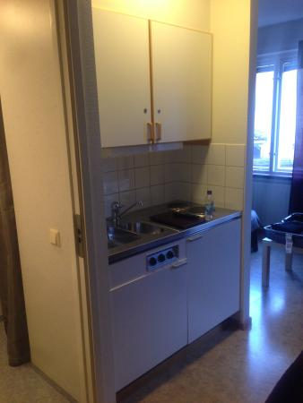 karlshamn hotell vandrarhem splendido monolocale con cucina frigo bagno doccia