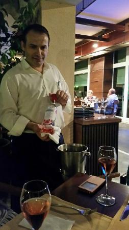 Sunset Resort: Арчи лицо ресторана MEDITERRANERO.
