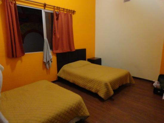quarto do hostel Amigo