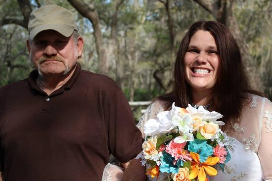 Crawfordville, FL: Dad giving his daughter away