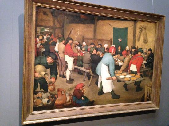 Kunsthistorisches Museum Pieter Bruegel The Elder Peasant Wedding From 1500 S