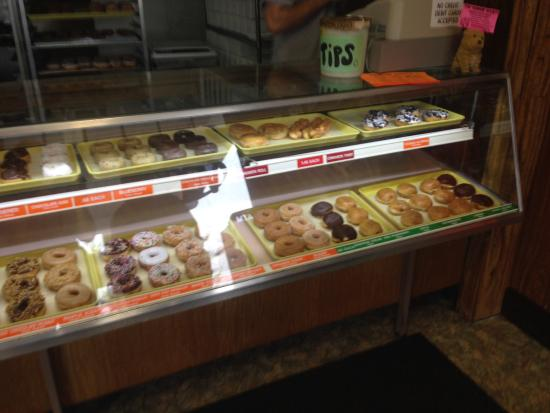 Carol Lee Donuts: inside display
