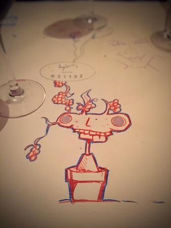 zeller bistro good food and doodles