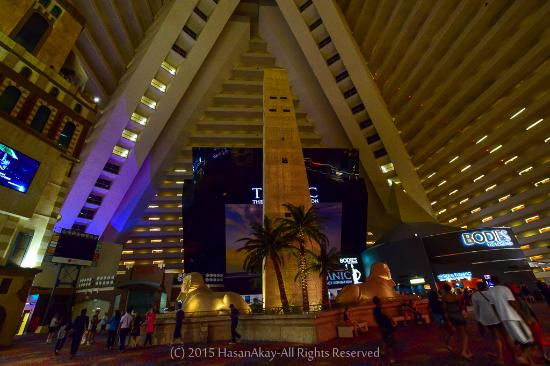 Luxor Hotel Inside The