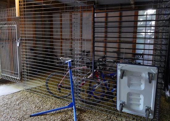 4 Levels Of Bike Security Lock Up Garage Lock Up Steel Cage