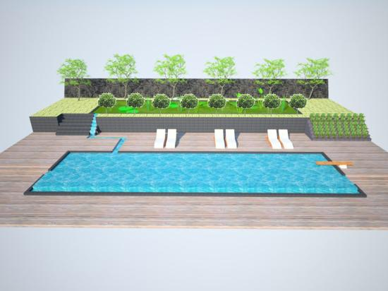La piscine en construction ouvre le 1er juin 2016 for Construction de piscine