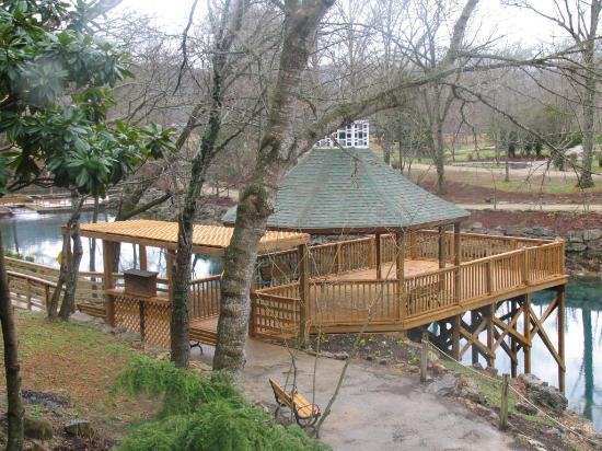 Blue Spring Heritage Center Pre Season Water Pavilion Wedding Venue