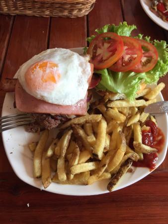 Qué buena comida...!!! Para repetir ...