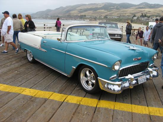 Pismo Carshow On The Pier And Throughout Pismo Beach Picture Of - Classic car show pismo beach