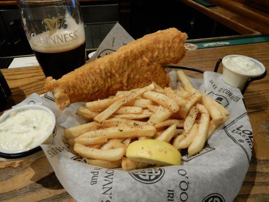 O'Donovan's Irish Pub: Fish & Chips