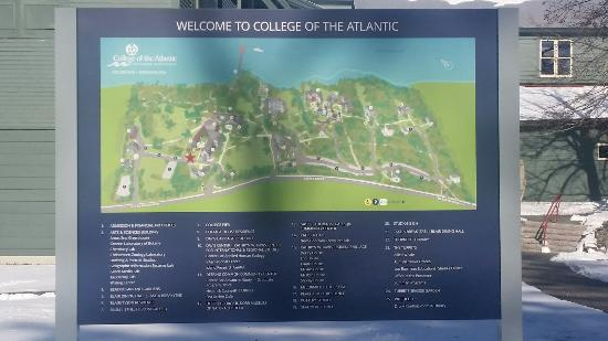 Coa Campus Map.Campus Of Coa Picture Of Mount Desert Island Bar Harbor Tripadvisor