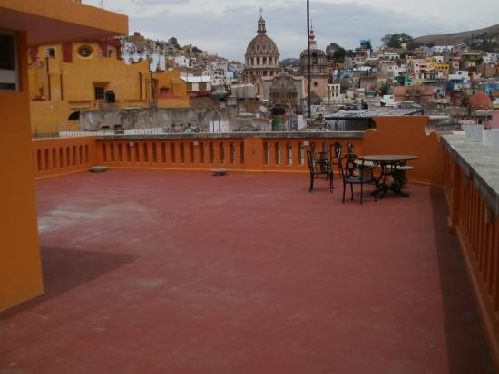 Hotel San Diego: private rooftop terrace with penthouse suite.