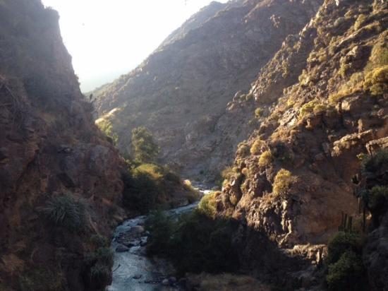 Farellones, Chile: Punto de partida hacia Vallecito