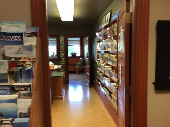 Grand Forks, Canadá: The Visitor Centre Office.