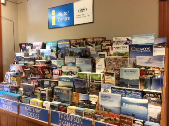 Grand Forks, Canadá: Material in the Visitor Centre.