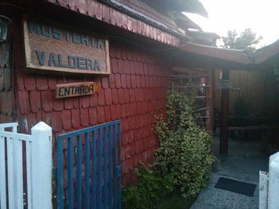 La Junta, Chile: Entrada