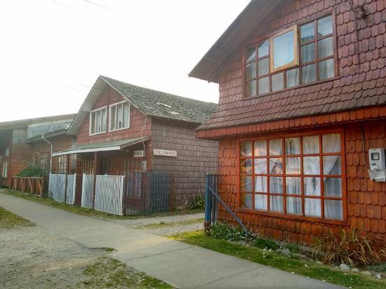 La Junta, Chile: Acesso para as cabanas, que tambem sao uma opcao de hospedagem disponivel!