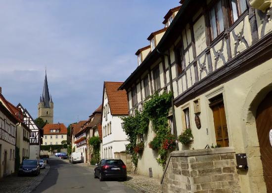 Zeil am Main, Germany: Rechts die Alte Freyung
