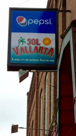 Colfax, WA: Exterior Shot of Sol Vallarta Sign