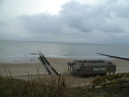 Westkapelle, Países Bajos: strandpaviloen