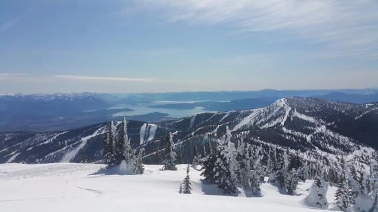 Sandpoint, ID: 360° views from Big Blue