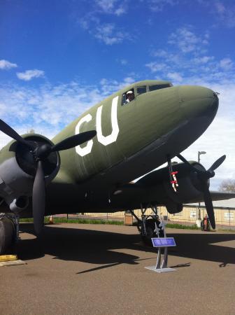 North Highlands, Kalifornia: D-Day Plane.
