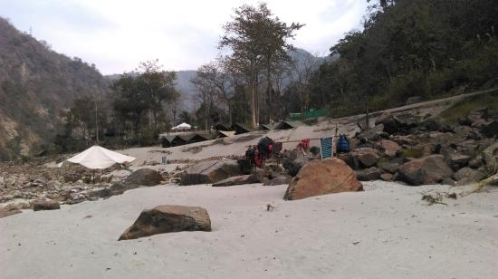 Camp Riverside Rishikesh: Camping in Rishikesh
