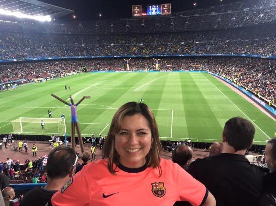 Foto de Camp Nou, Barcelona: Cuartos de final champions league 2014 ...