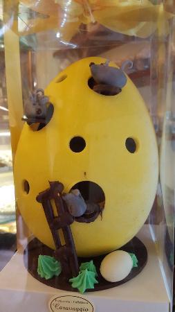 Pasticceria Caravaggio: Un successone le superoriginali Uova di Pasqua artigianali
